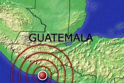 Sismo de 5 grados sacude centro y sur de Guatemala