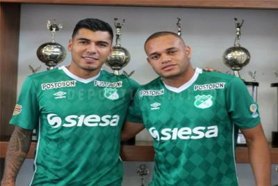 Deportivo Cali confirmó dos refuerzos: Jefferson Duque y Pablo Mina