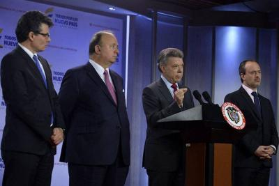 Santos afirmó que el problema de Venezuela está allá y nada tiene que ver con Colombia