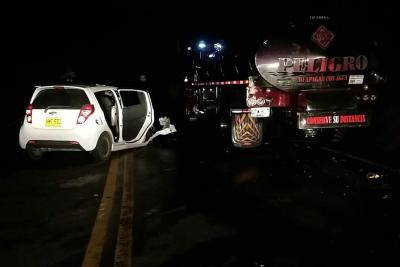 Accidente de tránsito en Santander cobró la vida de cinco personas