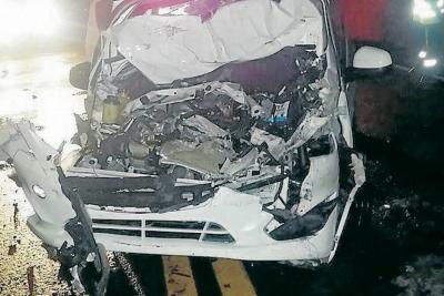 Accidente de tránsito dejó cinco muertos en Santander