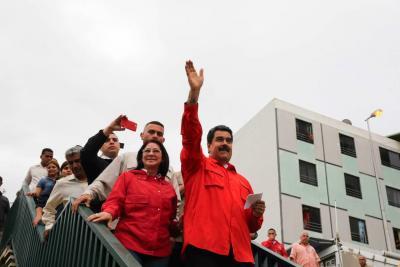 """""""A este pueblo no ha habido trago amargo que le mate su alegría"""": Maduro"""