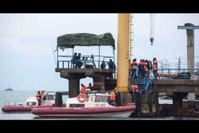 Hallan principal caja negra de avión ruso siniestrado en el mar Negro