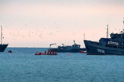 Hallan segunda caja negra del avión ruso accidentado en el mar Negro