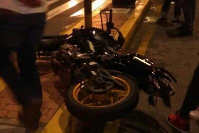 Una pareja murió en accidente de tránsito en Bucaramanga
