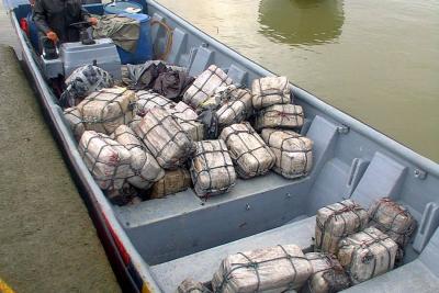 Arrestan a dos ecuatorianos y un colombiano con 683 kilos de cocaína en Guatemala