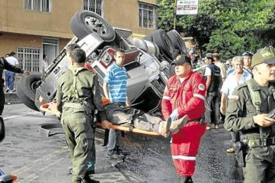 No es la primera tragedia causada por un vehículo de carga en San Gil