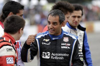 Juan Pablo Montoya y Gabby Chaves participarán en la Carrera de Campeones en Miami