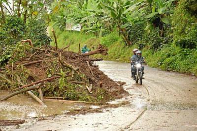 Manizales se encuentra en alerta naranja por las lluvias