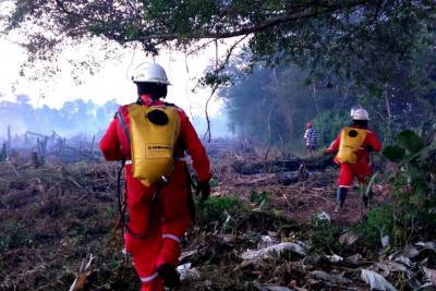 Temporada de incendios no da tregua en Santander