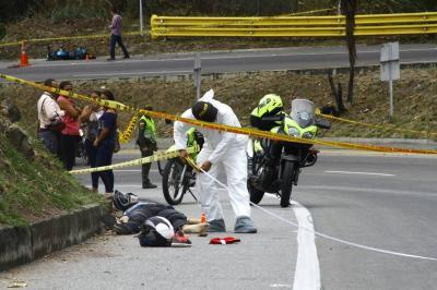 Un muerto y un herido tras accidente en vía a Aeropuerto de Bucaramanga