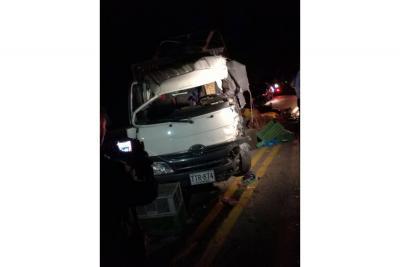 Accidente de tránsito dejó  un herido grave en Socorro