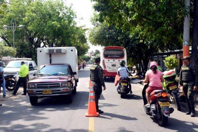 Policía se tomó tres comunas del Puerto