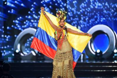 Así respondió a las preguntas 'reales' la Señorita Colombia en Miss Universo