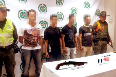 Operativos de la Policía  en Coviba permiten la captura de 4 personas