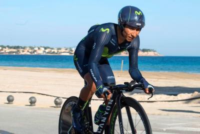 Nairo Quintana es líder de la Vuelta a Valencia