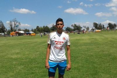Otro futbolista santandereano a la Selección Colombia
