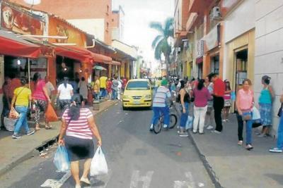 Recuperaron el espacio público en la carrera 16 de Bucaramanga