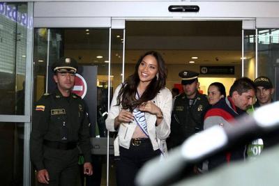Señorita Colombia regresó al país tras su participación en Miss Universo