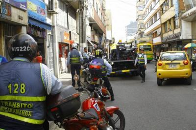 Instauran desacato contra Alcaldía por el Pico y Placa en el Centro