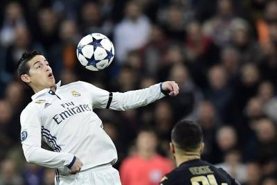Prensa española destaca actuación de James Rodríguez con el Real Madrid