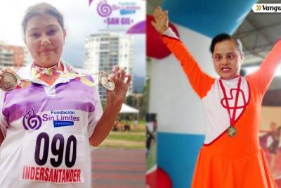 Santandereanas representarán a Colombia en Juegos Latinoamericanos de Olimpiadas Especiales