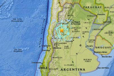Dos fuertes sismos sacudieron el noroeste de Argentina
