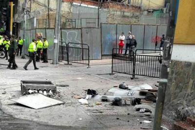 Cerca de 30 heridos tras explosión en inmediaciones a plaza de toros de Bogotá