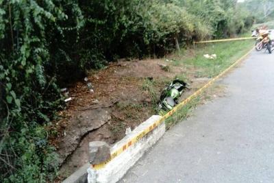 Murió motociclista de 20 años en el Norte de Bucaramanga