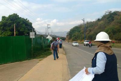 Desde este martes habrá cierres parciales en autopista entre Bucaramanga y Girón