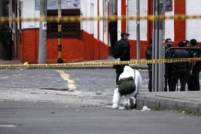 Atentado en Bogotá habría sito perpetrado por el Eln