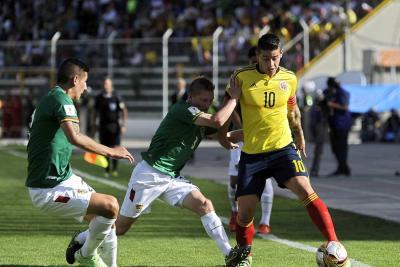 Este miércoles sale a la venta la boletería para el partido de Colombia contra Bolivia