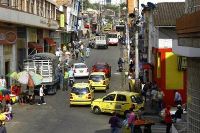 Alcaldía levantó Pico y Placa en el Centro de Bucaramanga