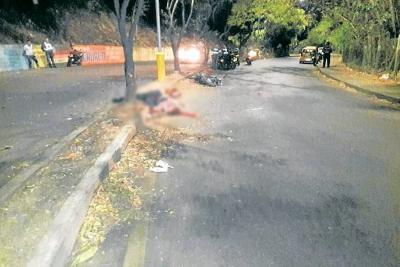 Un muerto y un herido  en accidente de tránsito