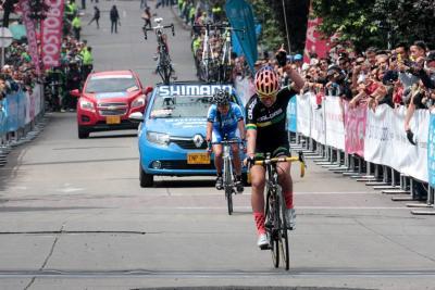 Santandereana Ana Sanabria finalizó quinta en el Nacional de Ruta