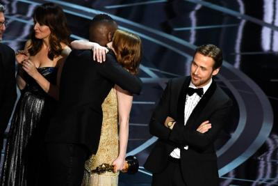 Moonlight le ganó el Oscar a Mejor Película a la premiada La la land