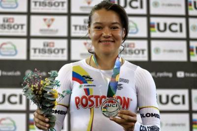 ¿Por qué la campeona santandereana de ciclismo Bayona se mudó a Medellín?