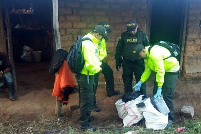 'Narcos' siguen produciendo droga cerca a Bucaramanga