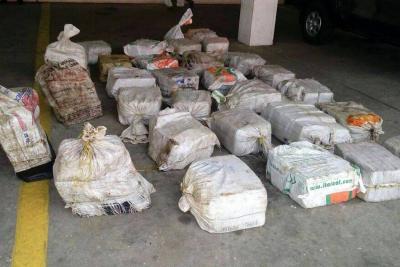 """Descubren cargamento de cocaína en camioneta con techo """"caleta"""""""