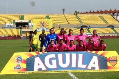 Atlético Bucaramanga femenino cayó 2-1 ante el Real Cartagena