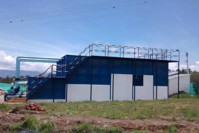Se pondrá en marcha la planta de tratamiento  de agua en Los Santos