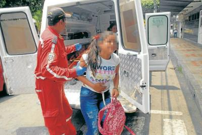 60 estudiantes se intoxicaron con complemento escolar en Santander