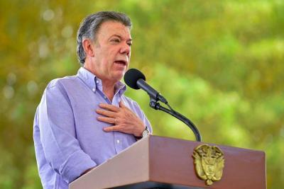 Santos hizo un llamado al Congreso para que apruebe la Justicia Especial para la Paz