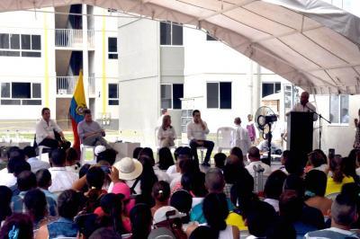 Presidente Santos propone  un Pmrb en forma modular