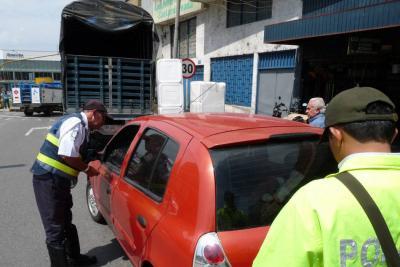 Estas son las infracciones contra la seguridad vial que más se cometieron en Bucaramanga