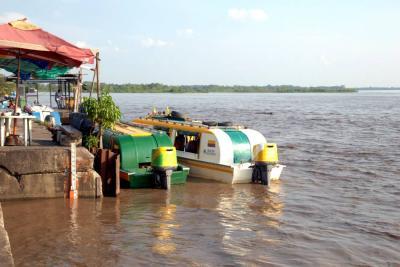 Alerta naranja en Barrancabermeja por alto nivel del río Magdalena