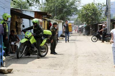 Mujer fue asesinada de varios disparos en Girón