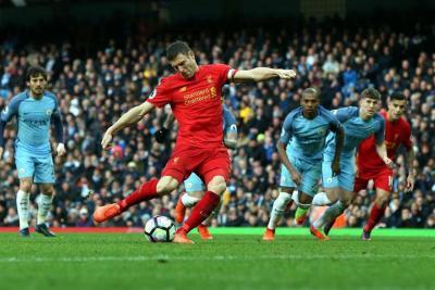 Liverpool logró valioso empate con el City en lucha por tercer puesto en la Premier
