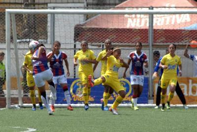 Atlético Bucaramanga femenino venció 1-0 al Unión Magdalena