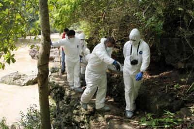Con cotejos de ADN identificarán al hombre descuartizado en Girón
